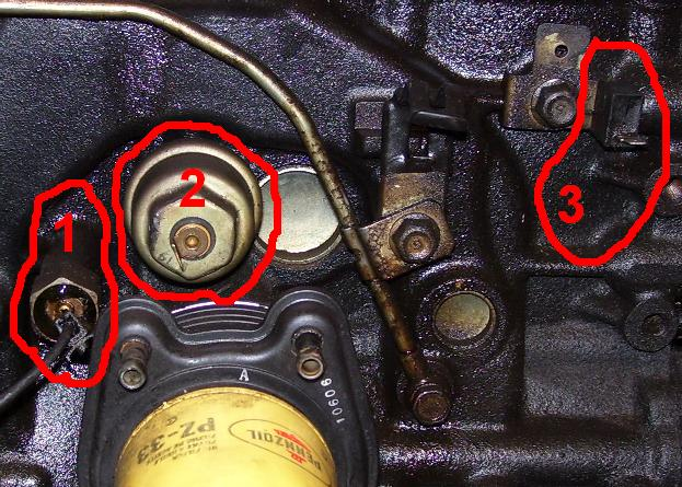 toyota sienna oil pressure sending unit location  toyota